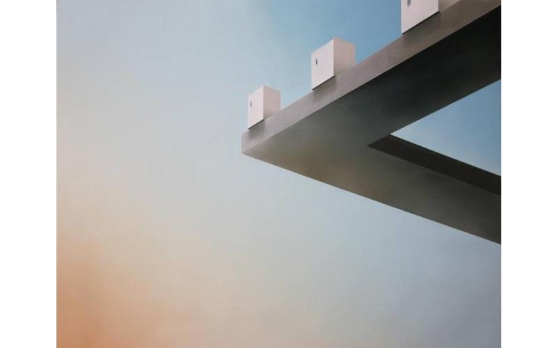 Miradores. 114x146cm. Pintura de arquitectura