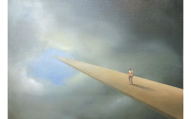 S.T. 33x46cm. Pintura existencial