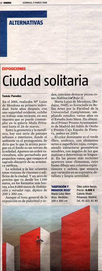 Dinero: María Luisa Solo Exhibition, Mada Privamesi Gallery